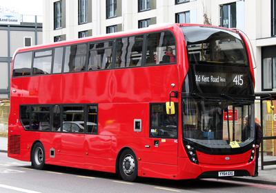 Route 415, Abellio London 2400, YY64GXG, Elephant & Castle