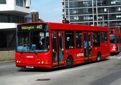 Route 410, Arriva London, DWS17, LJ53NFF, Croydon