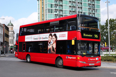 Route 96, Stagecoach London 15088, LX09AGU, Woolwich