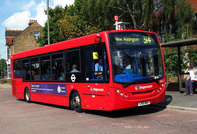 Route 314, Stagecoach London 36550, LX12DKA, Bromley North