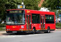 Route 201, Go Ahead London, DW11, LF52TKN, Morden