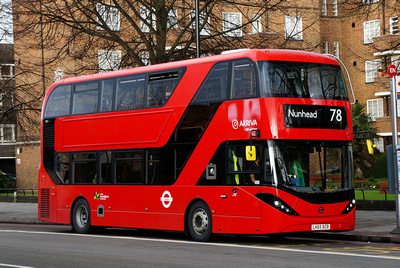 Click Here To View Arriva London DLA