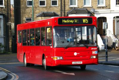 Route W15, Tower Transit, DP42600, LG02FFP, Leytonstone