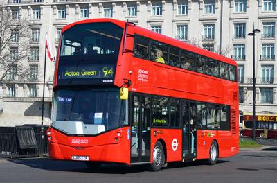 Route 94, London United RATP, VH45159, LJ65FZR, Marble Arch