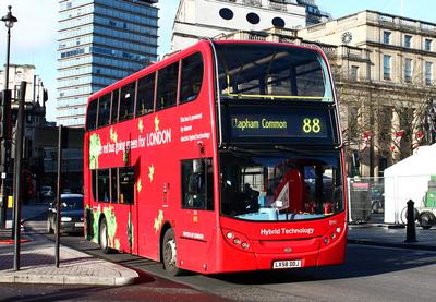 Route 88, Go Ahead London, EH1, LX58DDJ, Trafalgar Square