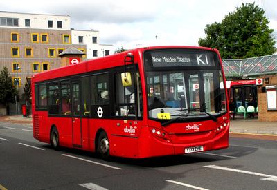 Route K1, Abellio London 8118, YX13EHE, Kingston