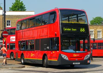 Route 88, Go Ahead London, E133, SN60BZE, Clapham Common