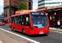 Route 450, Arriva London, SLS19, LK66AOJ, West Croydon