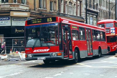 Route 113, Metroline, LN9, K309YJA, Oxford Street