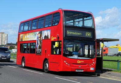 Route 191, Go Ahead London, EN7, SN58CEO, Enfield