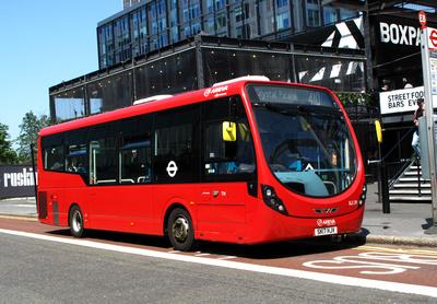 Route 410, Arriva London, SLS29, SK17HJV, Croydon