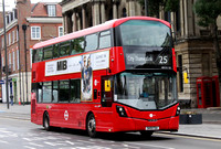 Route 25, Tower Transit, WH31118, SK19FDA, Stratford