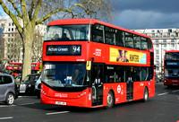 Route 94, London United RATP, BCE47008, LB69JNX, Marble Arch