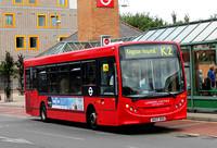 Route K2, London United RATP, DE64, SK07DXO, Kingston