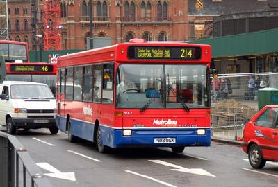 Route 214, Metroline, DLS2, P102OLX, King's Cross