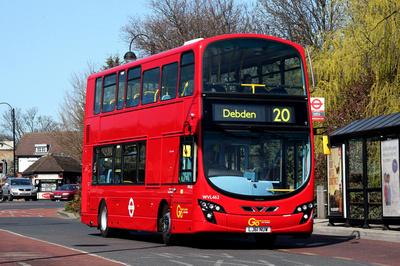 Route 20, Go Ahead London, WVL462, LJ61NUW, Loughton