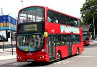 Route 35, Abellio London 9012, BX54DJE, Elephant & Castle