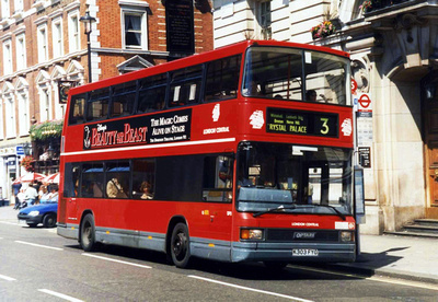 Route 3, London Central, SP3, K303FYG, Whitehall
