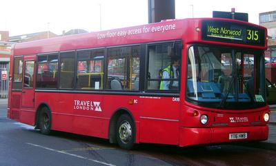 Route 315, Travel London, DA16, Y116HWB, West Norwood