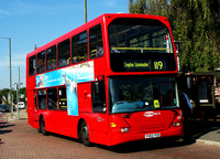 Route 119, Metrobus 435, YV03PZE, Bromley