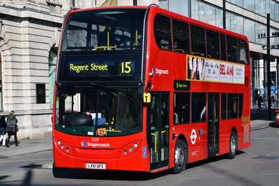 Route 15, Stagecoach London 12129, LX61DFE