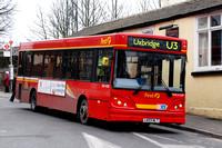 Route U3, First London, DMC41509, LK03NLT, West Drayton