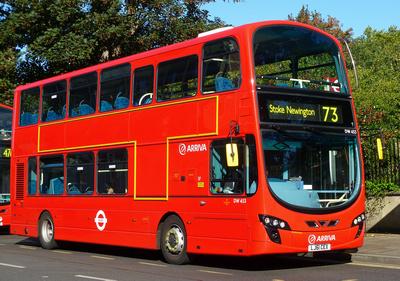 Route 73, Arriva London, DW453, LJ61CEX, Stoke Newington