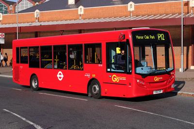 Route P12, Go Ahead London, SE165, YX61DVP, Surrey Quays