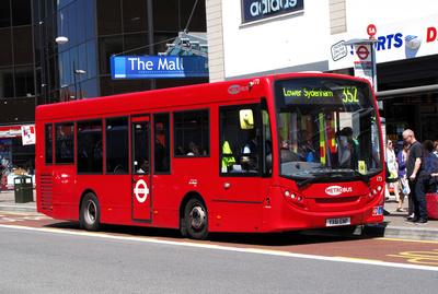 Route 352, Metrobus 173, YX61ENP, Bromley