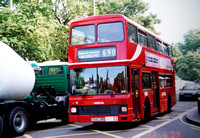Route 690, Arriva London, L545, G545VBB, Wandsworth Common