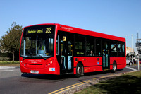 Route 285, London United RATP, DE1, YX58DVA, Hatton Cross