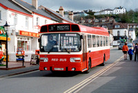 Red Bus North Devon 2852, PTT75R, Westward Ho