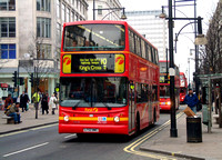 Route 10, First London, VFL1257, LT52WWC, Oxford Street