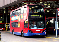Route 43, Metroline, TE678, LK55KKL, London Bridge