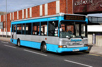 Route 33, Ensignbus 782, R182VLA, Grays