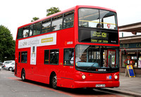 Route 121, Arriva London, DLA82, S282JUA, Oakwood