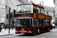 Big Bus Tours, DA3, LV51YCM, Piccadilly Circus