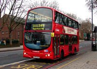 Route 349: Ponders End, Bus Garage - Stamford Hill