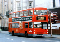 Route N56, London United, M1001, A701THV, Trafalgar Square
