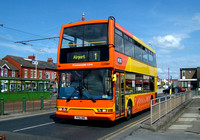 Route 1, Blackpool Transport 338, PO51UMG, Cleveleys