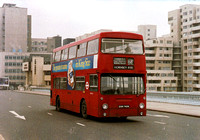 Route 168A, London Transport, DM1740, GHM740N