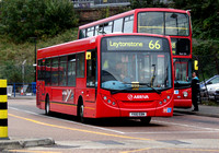 Route 66, Arriva Southend 4074, YX10EBN, Romford