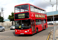 Route 330, East London ELBG 17232, X232NNO, Canning Town