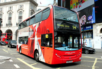 Route 94, London United RATP, ADH14, SN60BYK, Piccadilly Circus