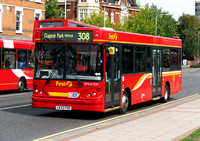 Route 308, First London, DMC41527, LK53FDD, Wanstead