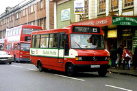 Route E5, Ealing Buses, MT3, F393DHL, Southall