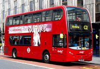 Route C2, Abellio London 9556, SN12APU, Victoria