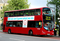 Route 35, Abellio London 9004, BX54DHM, Camberwell