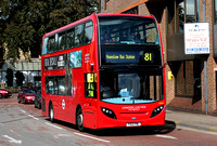 Route 81, London United RATP, ADE5, YX12FNL, Hounslow