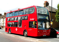 Route 349, Arriva London, T244, LJ61LKP, Ponders End
